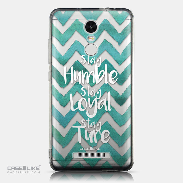CASEiLIKE Xiaomi Redmi Note 3 back cover Quote 2418