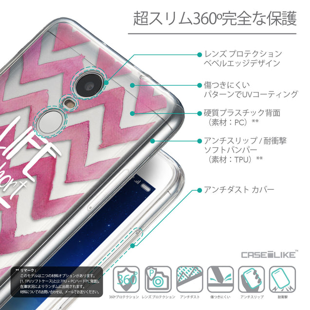 Details in Japanese - CASEiLIKE Xiaomi Redmi Note 3 back cover Quote 2419