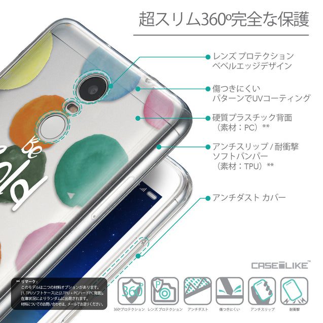 Details in Japanese - CASEiLIKE Xiaomi Redmi Note 3 back cover Quote 2420