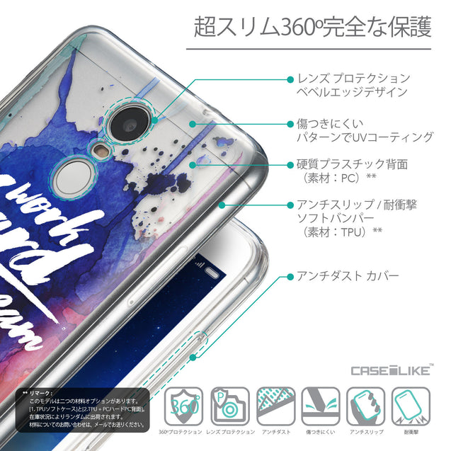 Details in Japanese - CASEiLIKE Xiaomi Redmi Note 3 back cover Quote 2422