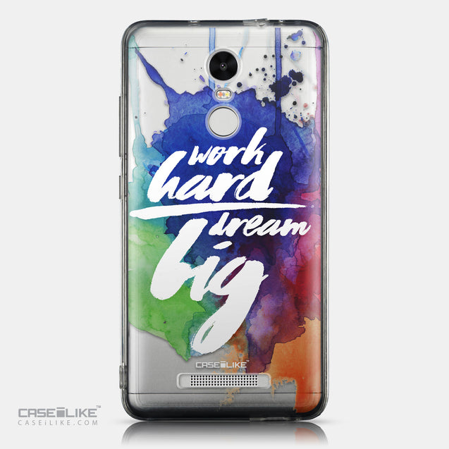 CASEiLIKE Xiaomi Redmi Note 3 back cover Quote 2422