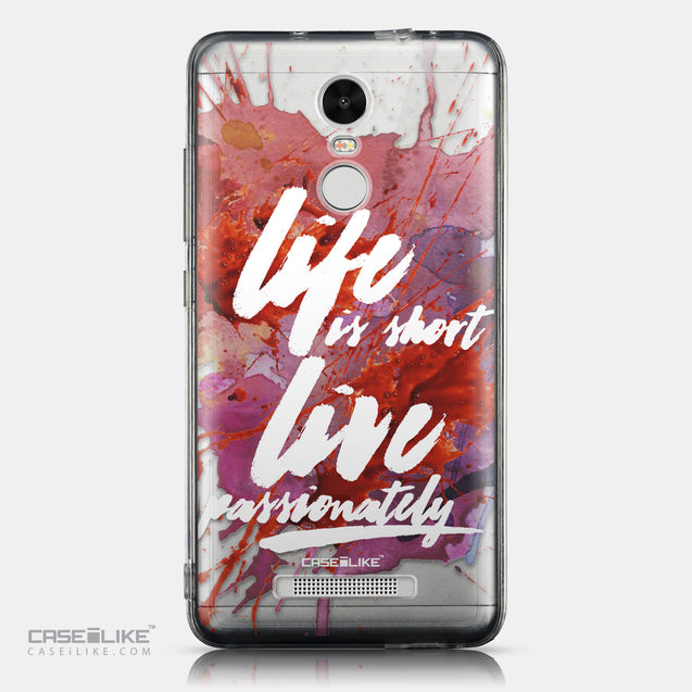 CASEiLIKE Xiaomi Redmi Note 3 back cover Quote 2423