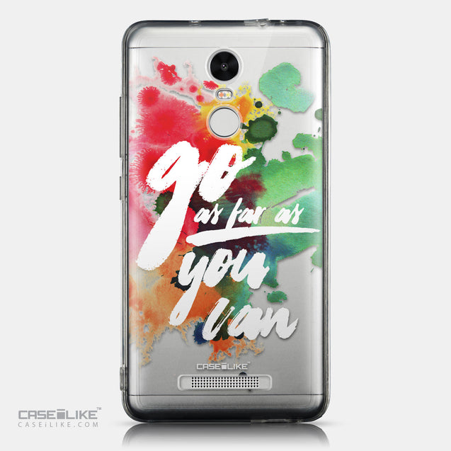 CASEiLIKE Xiaomi Redmi Note 3 back cover Quote 2424
