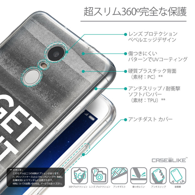 Details in Japanese - CASEiLIKE Xiaomi Redmi Note 3 back cover Quote 2429
