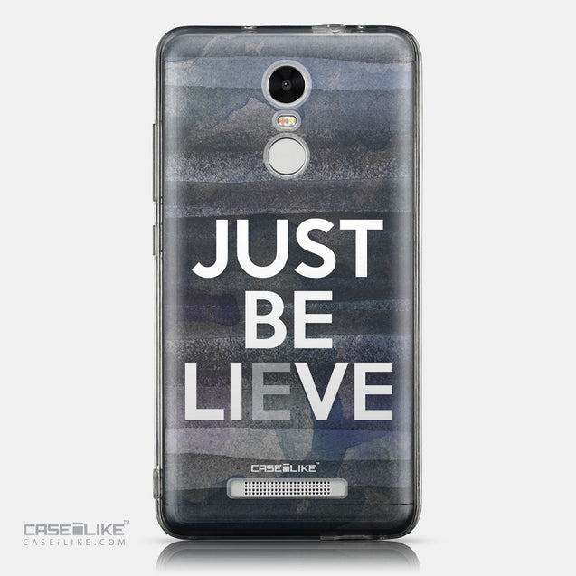 CASEiLIKE Xiaomi Redmi Note 3 back cover Quote 2430