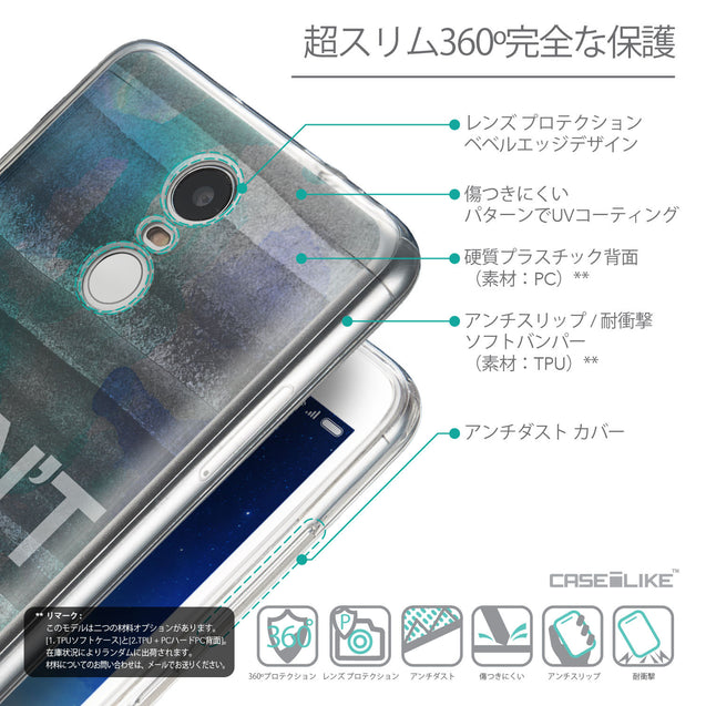Details in Japanese - CASEiLIKE Xiaomi Redmi Note 3 back cover Quote 2431