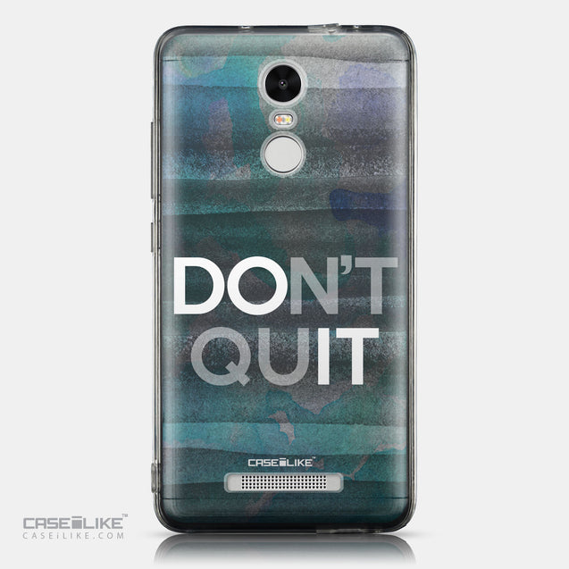 CASEiLIKE Xiaomi Redmi Note 3 back cover Quote 2431