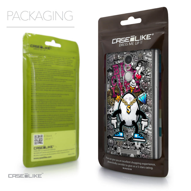 Packaging - CASEiLIKE Xiaomi Redmi Note 3 back cover Graffiti 2704