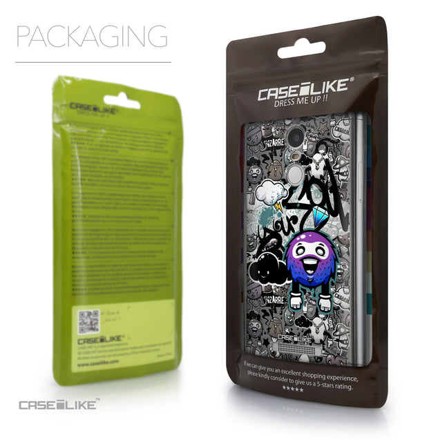 Packaging - CASEiLIKE Xiaomi Redmi Note 3 back cover Graffiti 2706