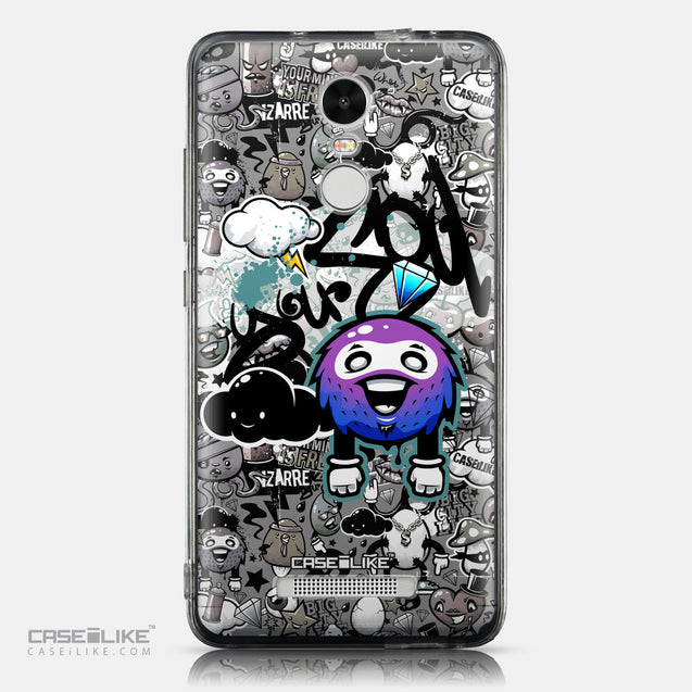 CASEiLIKE Xiaomi Redmi Note 3 back cover Graffiti 2706