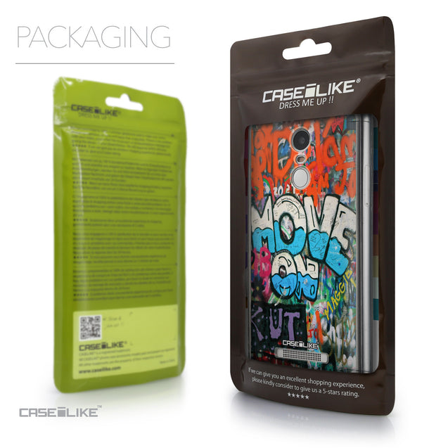 Packaging - CASEiLIKE Xiaomi Redmi Note 3 back cover Graffiti 2722