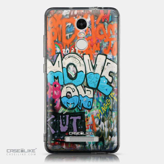 CASEiLIKE Xiaomi Redmi Note 3 back cover Graffiti 2722