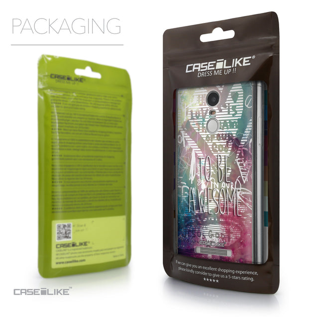 Packaging - CASEiLIKE Xiaomi Redmi Note 3 back cover Graffiti 2726