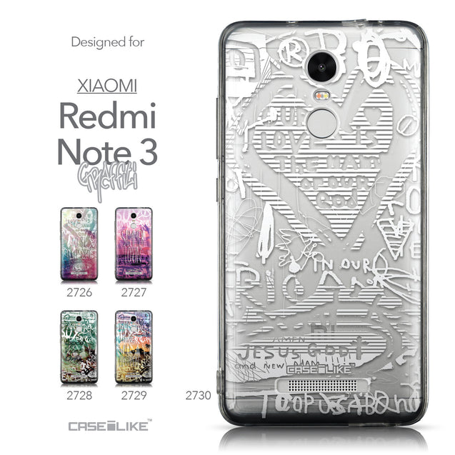 Collection - CASEiLIKE Xiaomi Redmi Note 3 back cover Graffiti 2730