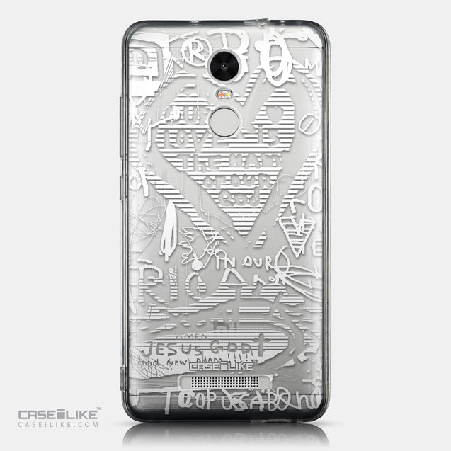 CASEiLIKE Xiaomi Redmi Note 3 back cover Graffiti 2730