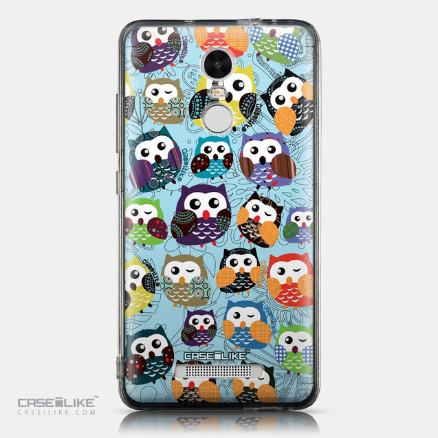 CASEiLIKE Xiaomi Redmi Note 3 back cover Owl Graphic Design 3312