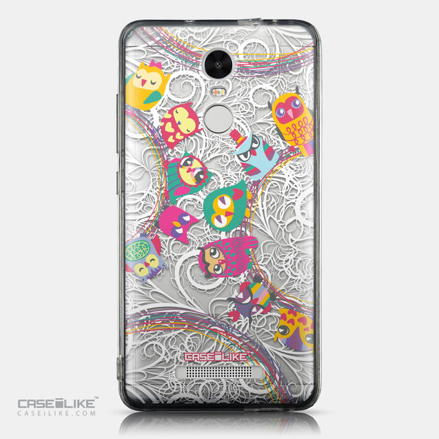 CASEiLIKE Xiaomi Redmi Note 3 back cover Owl Graphic Design 3316