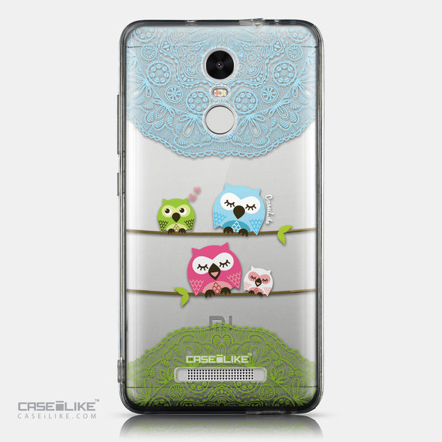 CASEiLIKE Xiaomi Redmi Note 3 back cover Owl Graphic Design 3318