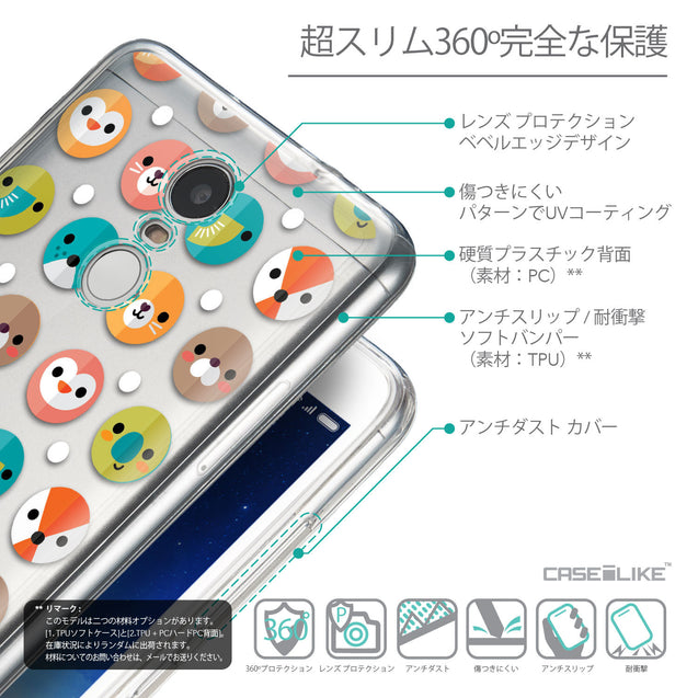 Details in Japanese - CASEiLIKE Xiaomi Redmi Note 3 back cover Animal Cartoon 3638