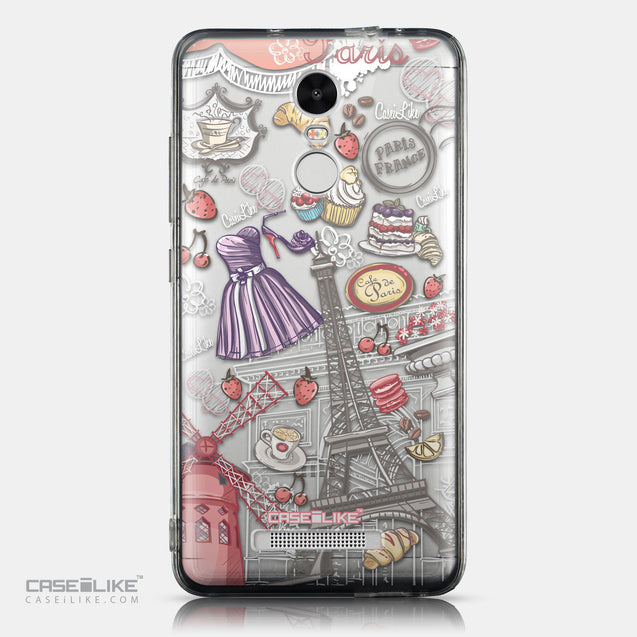 CASEiLIKE Xiaomi Redmi Note 3 back cover Paris Holiday 3907