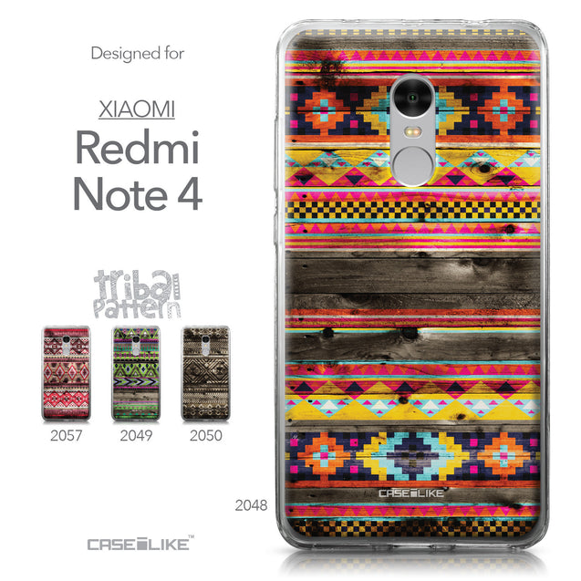 Xiaomi Redmi Note 4 case Indian Tribal Theme Pattern 2048 Collection | CASEiLIKE.com