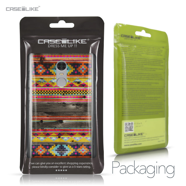 Xiaomi Redmi Note 4 case Indian Tribal Theme Pattern 2048 Retail Packaging | CASEiLIKE.com