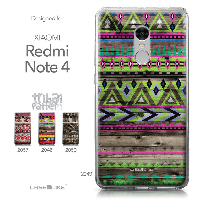 Xiaomi Redmi Note 4 case Indian Tribal Theme Pattern 2049 Collection | CASEiLIKE.com