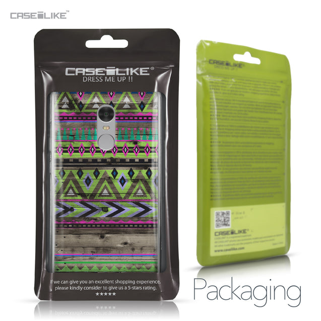 Xiaomi Redmi Note 4 case Indian Tribal Theme Pattern 2049 Retail Packaging | CASEiLIKE.com