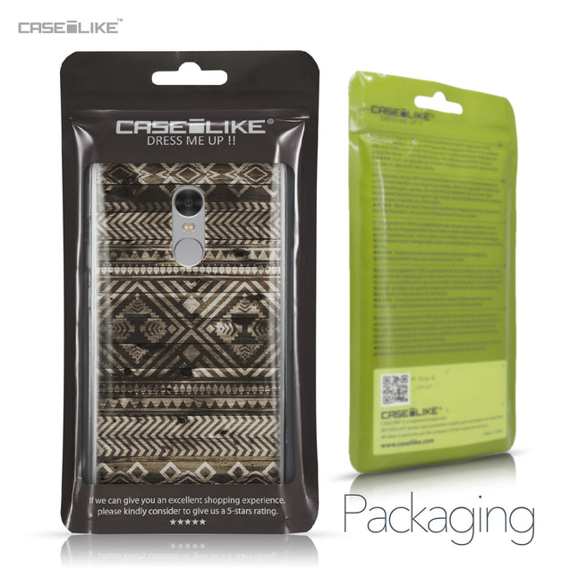 Xiaomi Redmi Note 4 case Indian Tribal Theme Pattern 2050 Retail Packaging | CASEiLIKE.com