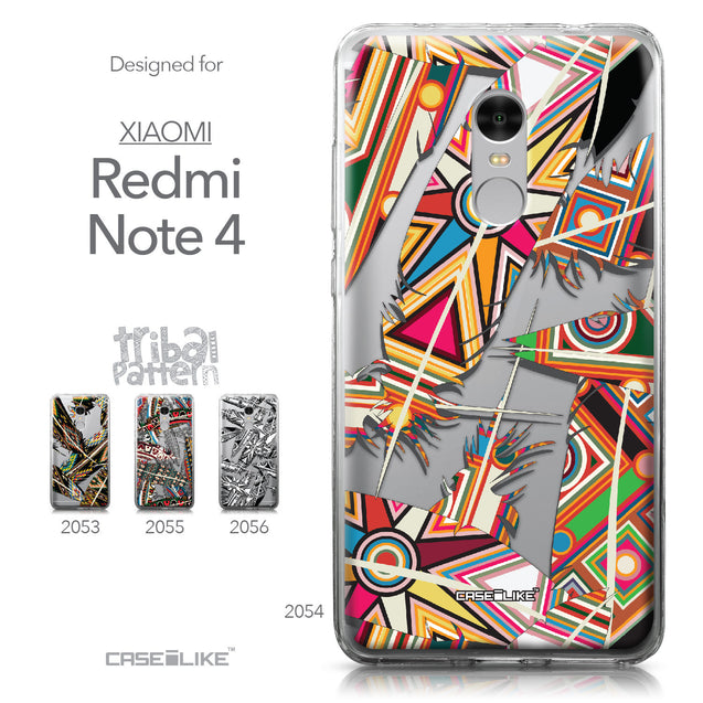 Xiaomi Redmi Note 4 case Indian Tribal Theme Pattern 2054 Collection | CASEiLIKE.com