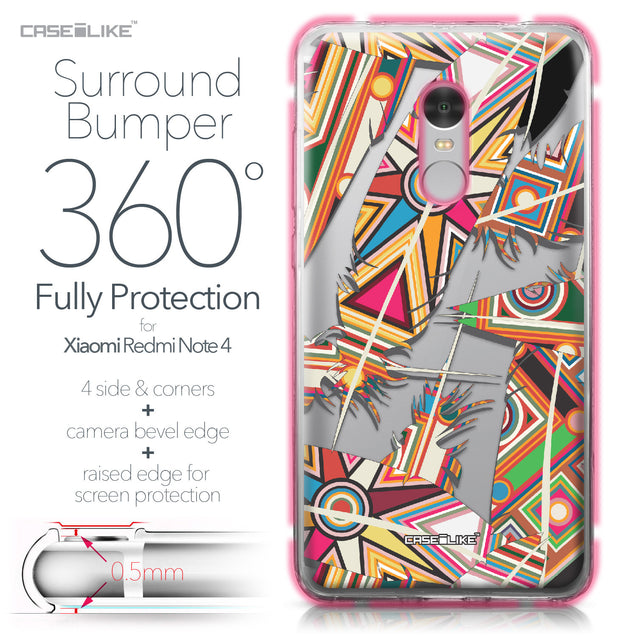 Xiaomi Redmi Note 4 case Indian Tribal Theme Pattern 2054 Bumper Case Protection | CASEiLIKE.com
