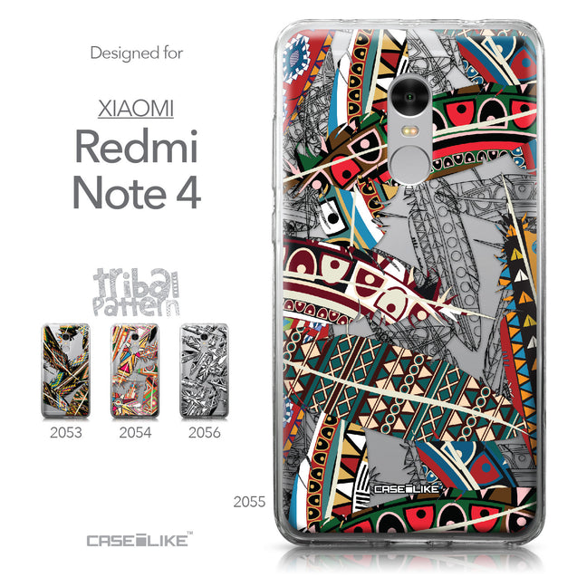 Xiaomi Redmi Note 4 case Indian Tribal Theme Pattern 2055 Collection | CASEiLIKE.com