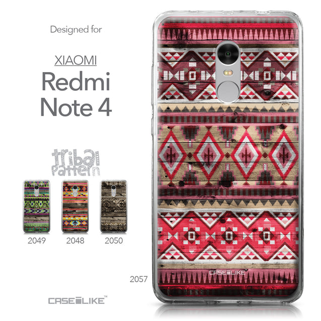 Xiaomi Redmi Note 4 case Indian Tribal Theme Pattern 2057 Collection | CASEiLIKE.com
