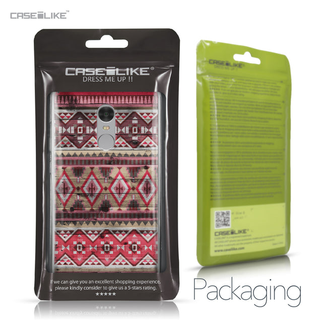 Xiaomi Redmi Note 4 case Indian Tribal Theme Pattern 2057 Retail Packaging | CASEiLIKE.com