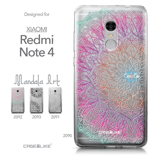Xiaomi Redmi Note 4 case Mandala Art 2090 Collection | CASEiLIKE.com