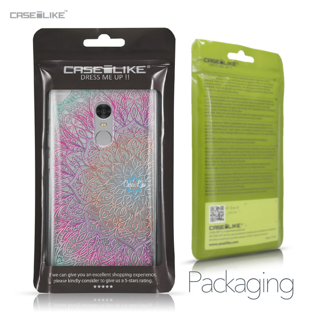 Xiaomi Redmi Note 4 case Mandala Art 2090 Retail Packaging | CASEiLIKE.com