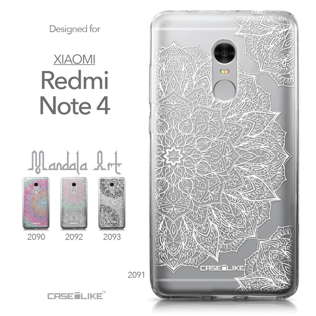 Xiaomi Redmi Note 4 case Mandala Art 2091 Collection | CASEiLIKE.com
