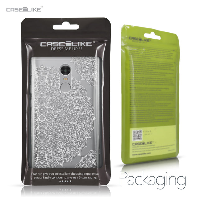 Xiaomi Redmi Note 4 case Mandala Art 2091 Retail Packaging | CASEiLIKE.com
