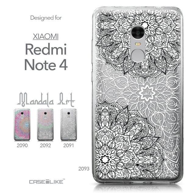 Xiaomi Redmi Note 4 case Mandala Art 2093 Collection | CASEiLIKE.com