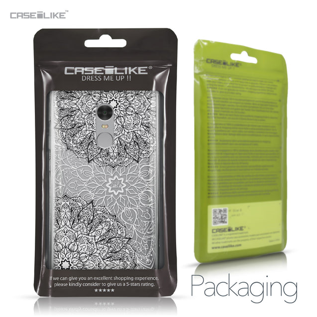 Xiaomi Redmi Note 4 case Mandala Art 2093 Retail Packaging | CASEiLIKE.com