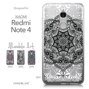 Xiaomi Redmi Note 4 case Mandala Art 2097 Collection | CASEiLIKE.com