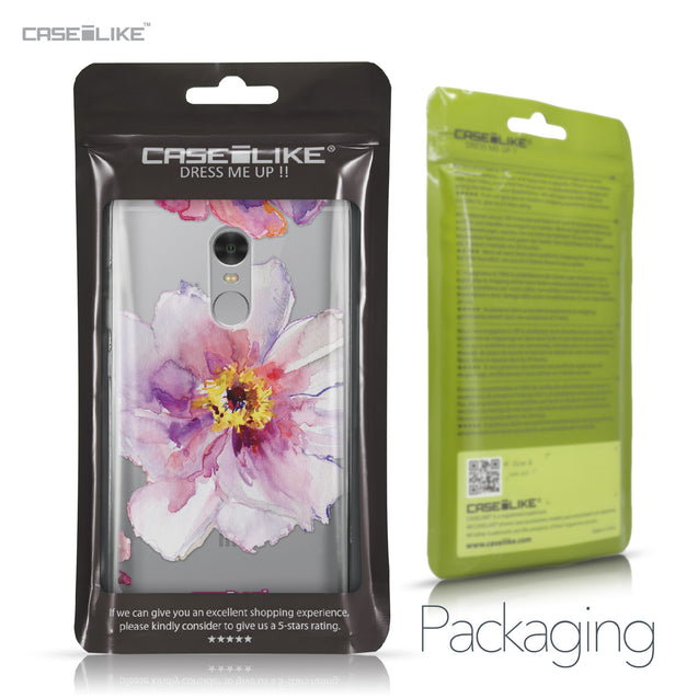 Xiaomi Redmi Note 4 case Watercolor Floral 2231 Retail Packaging | CASEiLIKE.com
