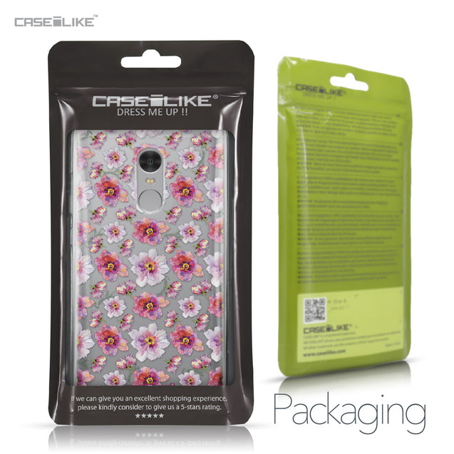 Xiaomi Redmi Note 4 case Watercolor Floral 2232 Retail Packaging | CASEiLIKE.com