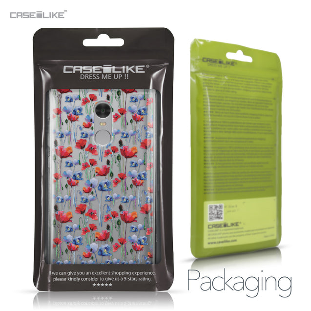 Xiaomi Redmi Note 4 case Watercolor Floral 2233 Retail Packaging | CASEiLIKE.com