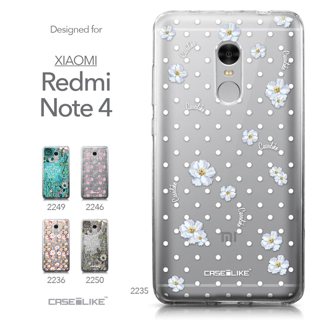 Xiaomi Redmi Note 4 case Watercolor Floral 2235 Collection | CASEiLIKE.com