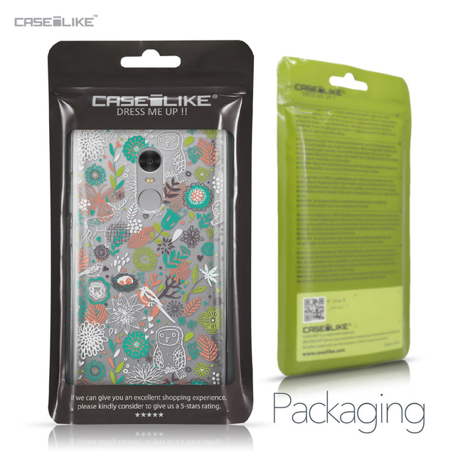Xiaomi Redmi Note 4 case Spring Forest White 2241 Retail Packaging | CASEiLIKE.com