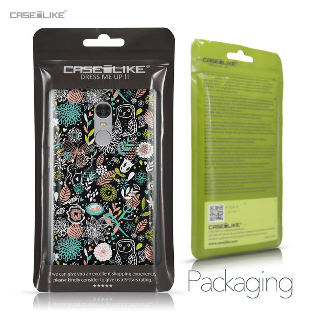 Xiaomi Redmi Note 4 case Spring Forest Black 2244 Retail Packaging | CASEiLIKE.com