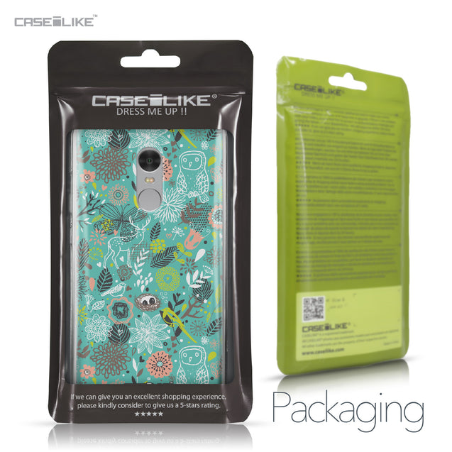 Xiaomi Redmi Note 4 case Spring Forest Turquoise 2245 Retail Packaging | CASEiLIKE.com
