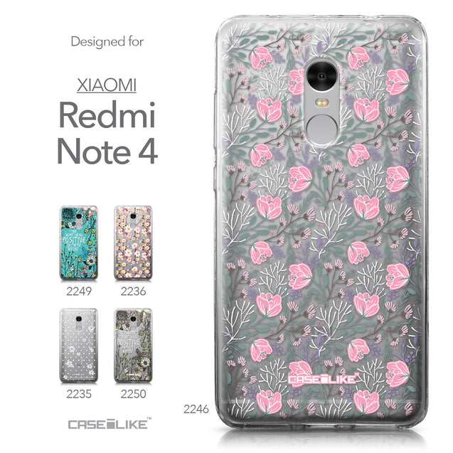 Xiaomi Redmi Note 4 case Flowers Herbs 2246 Collection | CASEiLIKE.com