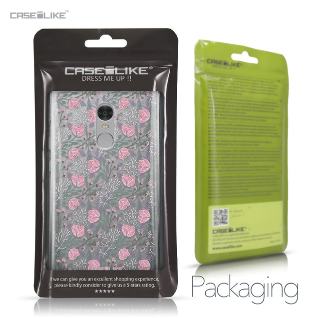 Xiaomi Redmi Note 4 case Flowers Herbs 2246 Retail Packaging | CASEiLIKE.com